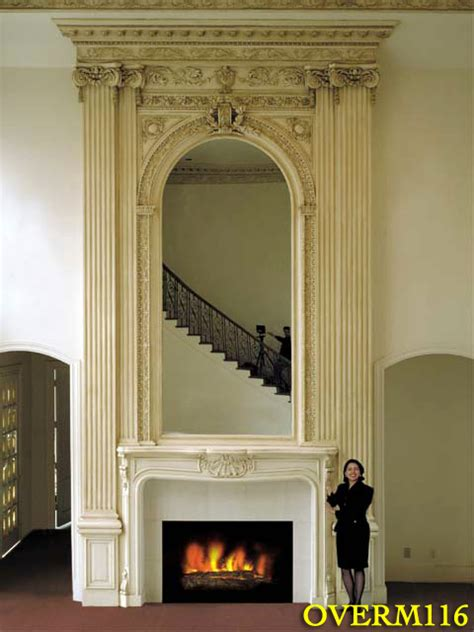 Home Design Catalog overmantels plaster ornamental fireplace overmantels