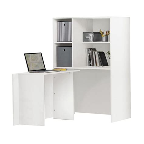 corner hideaway desk buy calgary hideaway corner desk white at argos co uk