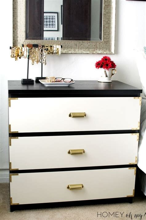 painting malm dresser caign style dresser ikea malm makeover diy and