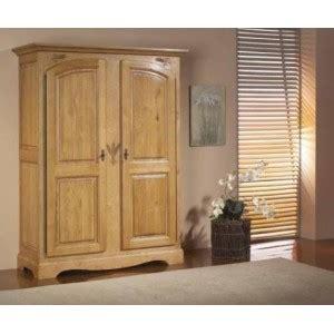 armoire chene massif 2 portes armoire ardeche chene massif 2 portes les meubles du chalet
