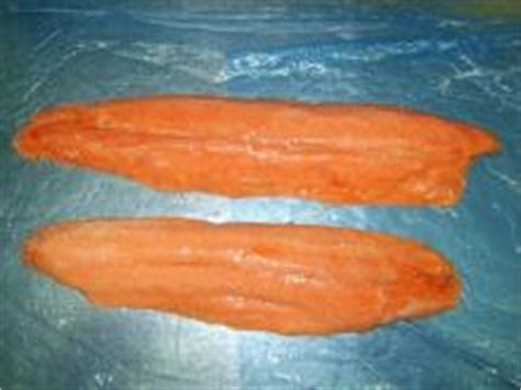 Salmon Fillet Norwey Frozen 200gr Premium atlantic salmon whole fillet gutted from