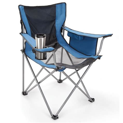 Yard Chair by The Fan Cooled Portable Lawn Chair Hammacher Schlemmer