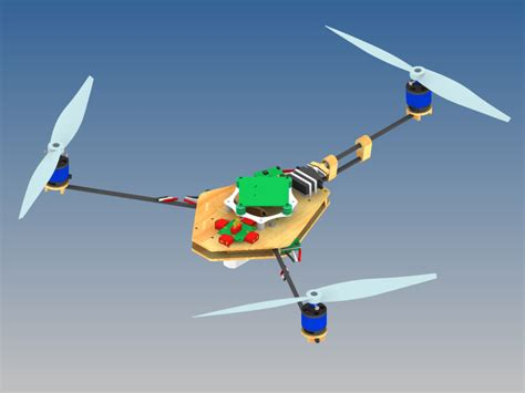 A Frame Designs Y6 Copter Y3 Copter Amp Other Multicopter Configurations