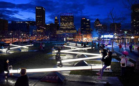 Light City Baltimore 2017 Lights Baltimore