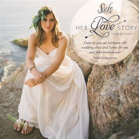 Sweepstakes Stories - her love story sweepstakes with celia grace sseko designs