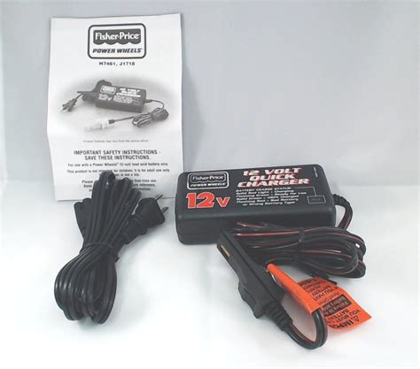 fisher price charger 12 volt battery fisher price power wheels 12 volt charger for gray