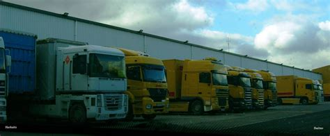 Sede Dhl by Camiones Y Autobuses Por Alava Dhl