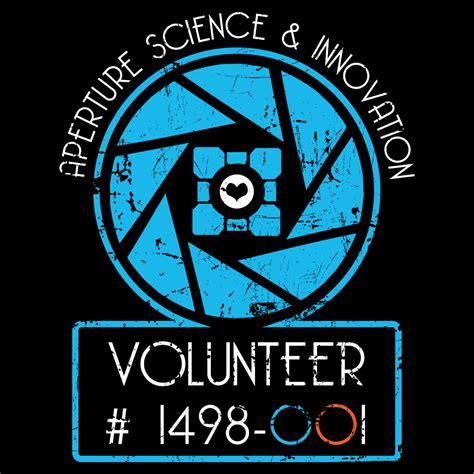 Tshirt Aperture aperture science volunteer t shirt snorgtees