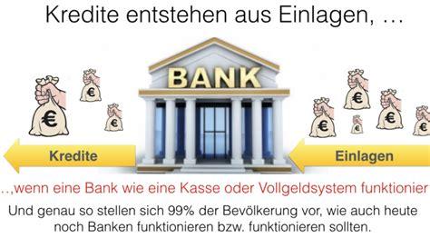 bank kredite arne pfeilsticker neue geldordnung