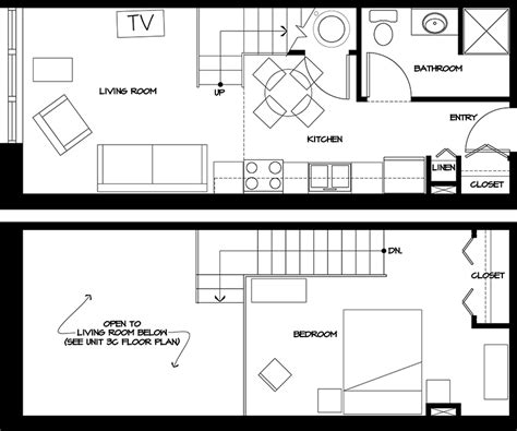 Small Loft Apartment Floor Plan | sault ste marie apartments in park place city center