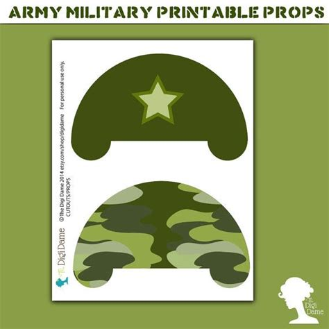 printable army photo booth props 29 best army party images on pinterest army party