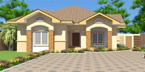three bedrooms house plans ghana house plans nii ayitey house plan