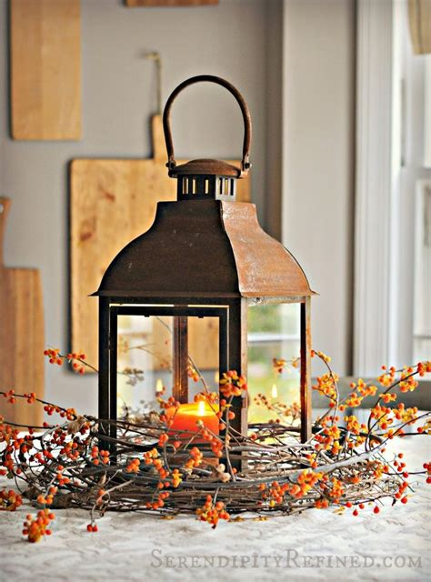 dining room table centerpieces knowledgebase 59 fall lanterns for outdoor and indoor d 233 cor digsdigs