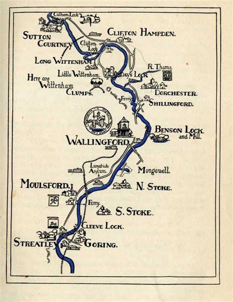 river thames old maps river maps wallingford history gateway