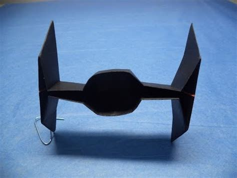 How To Make An Origami Tie Fighter - gear magazine