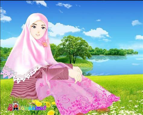 gambar kartun wanita muslimah cantik 20 gambar kartun wanita cantik terbaru 2018 gambar pedia