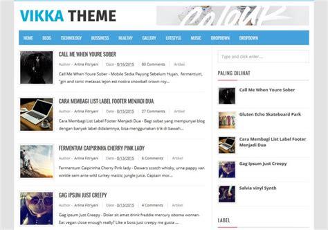 fast loading templates for blogger vikka fast loading blogger template blogspot templates 2018