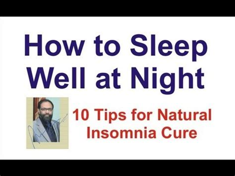 how to sleep comfortably how to sleep well at night 10 tips to natural insomnia