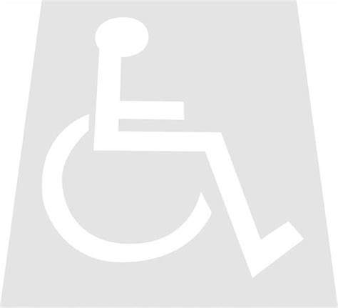 Handicap Template multitool handicap template