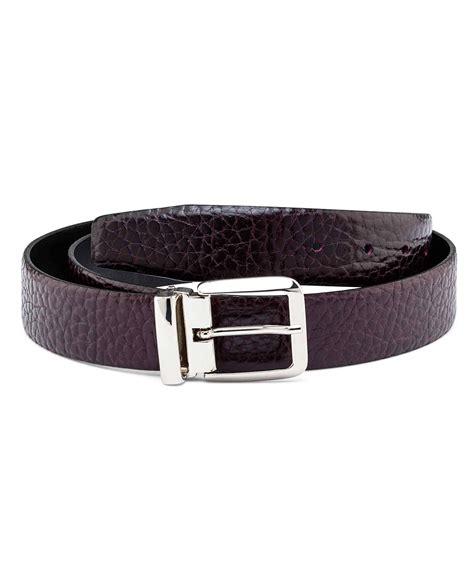 buy mens cordovan leather belt leatherbeltsonline