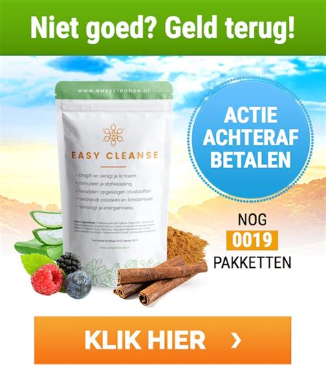 How To Do A Simple Detox by Easy Cleanse Nl Be Afvallen Krijgen Figuur