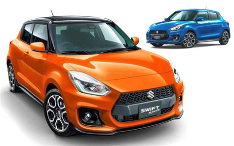 suzuki swift sport   features  colours