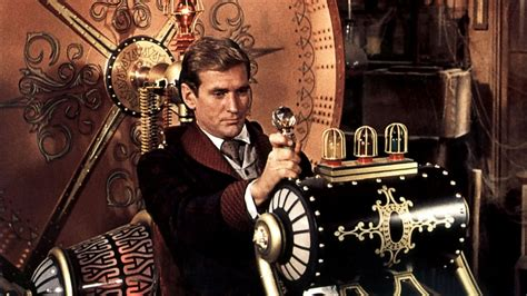 the time machine from the film vault the birds and the time machine