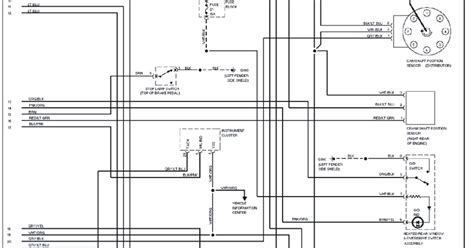 1995 jeep grand l wiring diagram schematic