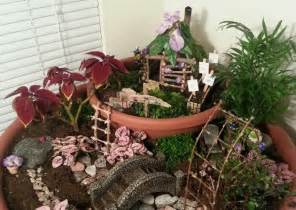 how to make a fairy garden home wizards