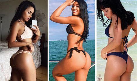 el mejor trasero femenino del mundo 10 chicas con el mejor trasero de instagram 161 y no son