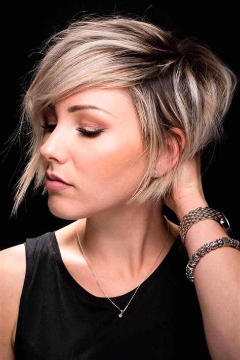 asymmetrical haircuts for women over 40 with fine har best 25 short asymmetrical hairstyles ideas on pinterest