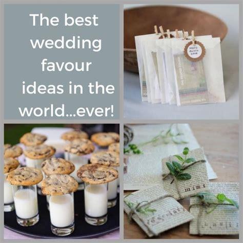 7 Wonderful Wedding Favour ideas