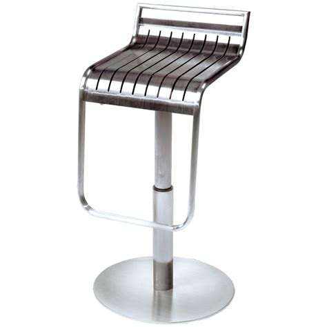 brushed metal bar stools no 1 bar stool brushed steel drinkstuff