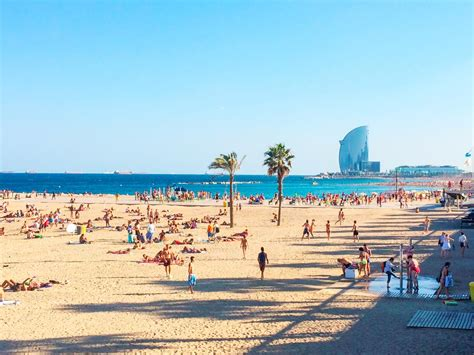 barcelona beach barcelona spain travel channel