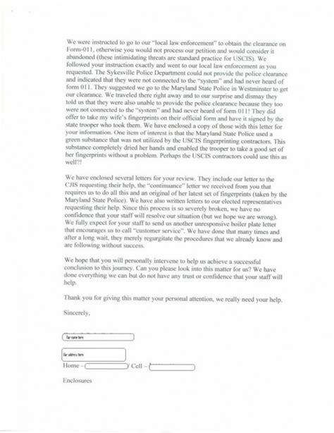 Response Letter To Uscis Uscis Letter Responses Craig Ging S Home On The Web