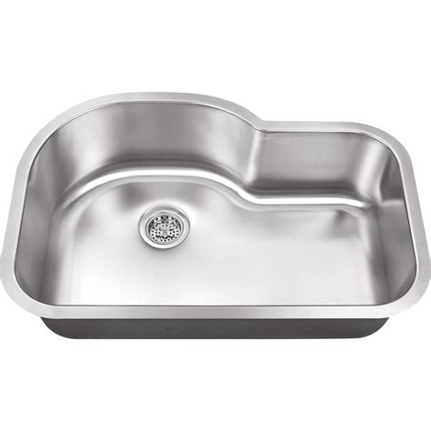stainless kitchen sink ipt sink company undermount 32 in 18 gauge stainless