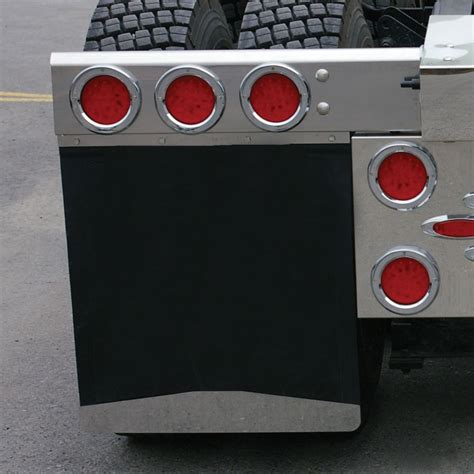 chrome bottom mud flap weight welded stud mud flap weights mud flap weights mud flap