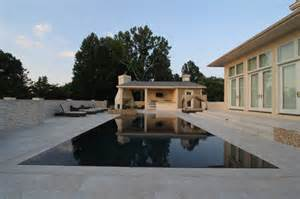 Small Black Bathrooms - perimeter overflow pool 1 modern pool other metro by national pools of roanoke inc