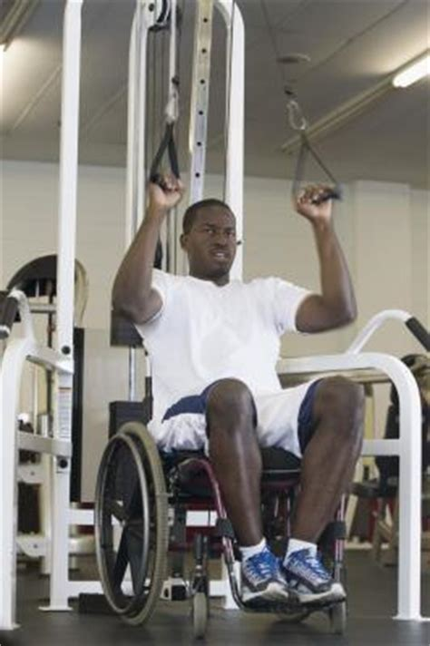 adapting exercises for disabled people