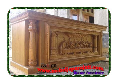 Meja Altar Jati meja altar gereja pengrajin mebel jepara furniture
