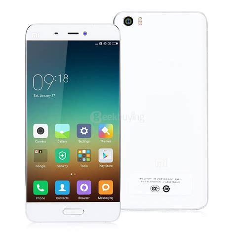 Xiaomi Mi 5 3 32 White Global Rom Garansi 1tahun official gloabl rom xiaomi mi5 5 15inch 3gb 32gb smartphone white