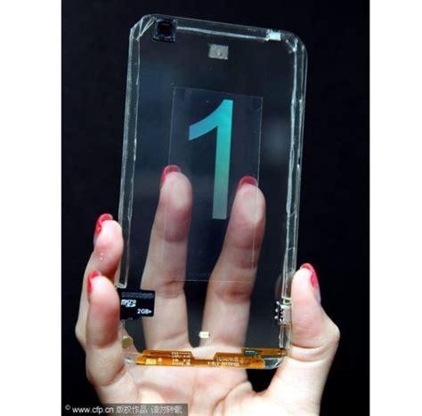 Touchscreen Polytron R1500 1 polytron unveils a real transparent smartphone