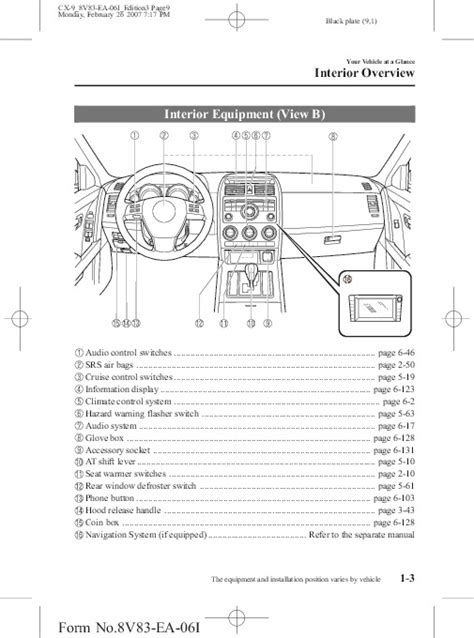 old car repair manuals 2007 mazda cx 7 navigation system 2007 mazda cx 9 owners manual