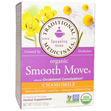 Traditional Medicinals Detox Tea Side Effects by Organic Smooth Move Laxative Tea Weight Loss Berry