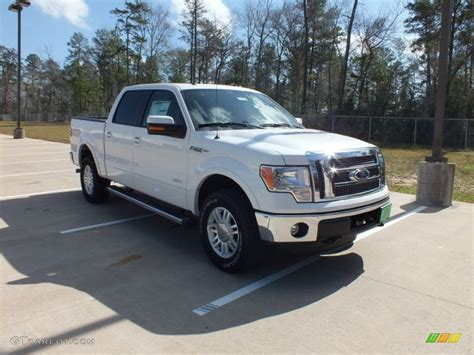 2012 ford f150 supercrew 2012 white platinum metallic tri coat ford f150 lariat