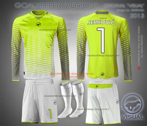 goalkeeper jersey design your own visual football fantasy kit design quot adrion quot line by