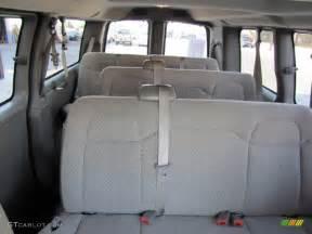 2012 chevrolet express lt 3500 passenger interior