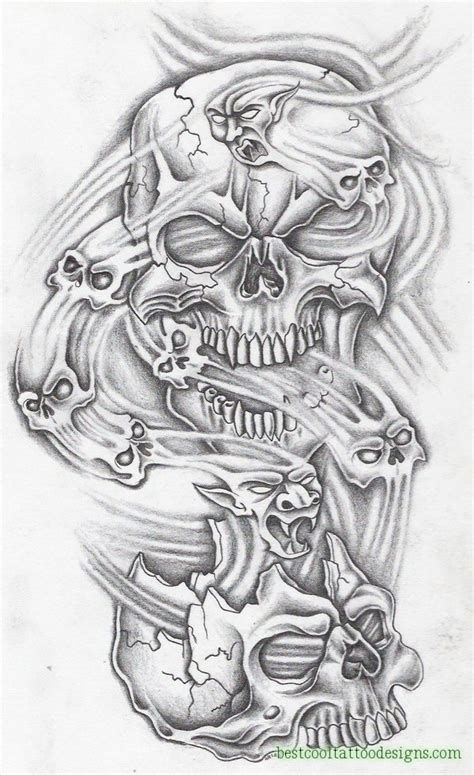 top ten tattoo designs skull designs flash page 3 of 8 best cool