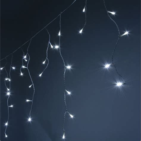 240 led icicle string lights with timer control cw from