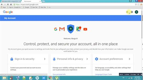 reset gmail via email how to change alternate email id in gmail youtube